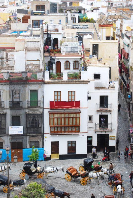 スペインの屋上
