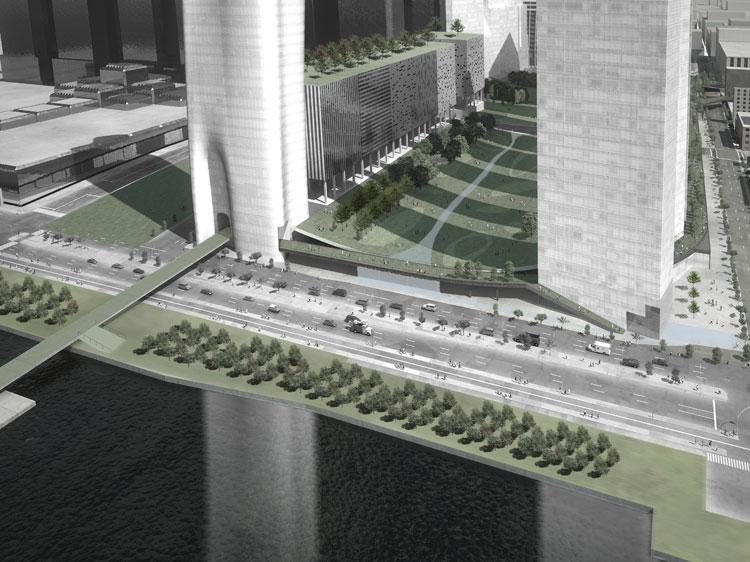 ハドソンヤード再開発 スティーブン・ホール – Hudson Rail Yards, Steven Holl Architects