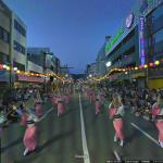 Googleストリートビュー四国まとめ。徳島は阿波踊り、瀬戸内の島々も歩けます。