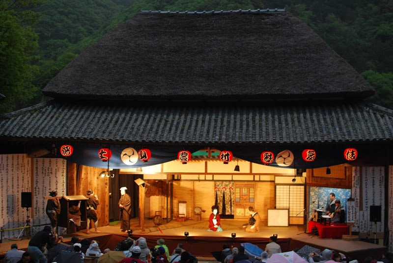 【小豆島・毎年5/3】歌舞伎の島、小豆島に江戸時代から続く農村歌舞伎 – The village kabuki performance in Shodoshima.