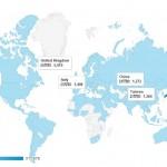 ウェブサイト「物語を届けるしごと」の海外からのアクセス数を見てみました。 – website traffic by country