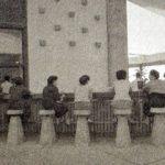 丹下健三さん設計の香川県庁舎東館の屋上 – The Kagawa Prefectural Government Hall