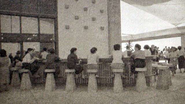丹下健三さん設計の香川県庁舎東館の屋上 The Kagawa Prefectural Government Hall