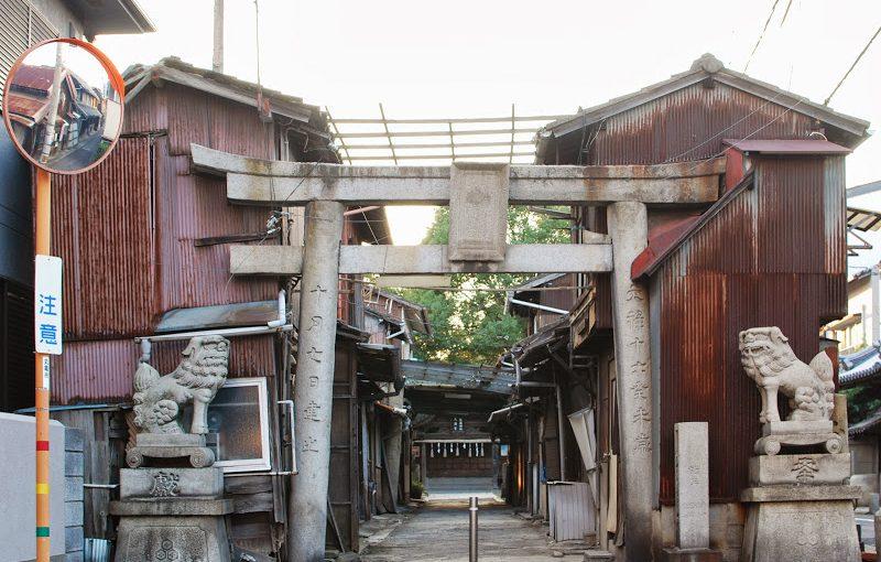 香川県・丸亀市にある一寸島(いつくしま)神社がすごい – Itsukushima Shrine at Marugame city, Kagawa pref.