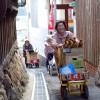 """島の暮らしに最も溶け込んでいるアート「男木島 オンバファクトリー」 – The best loved art work """"Onba factory"""""""