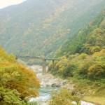 紅葉、山深く。祖谷の山間集落へ The autumn color of leaves at Iya