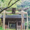 苔生す上一宮大粟神社。徳島県神山 Moss-covered Kami Ichinomiya Ooawa Shrine at Kamiyama