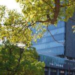 彫刻家の作る生きた壁と、日本初の緑青銅板仕上げの建築「百十四銀行本店」 The green wall and 114th Bank at Kagawa pref.