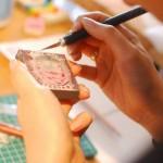 消しゴムハンコをつくりに小豆島へ original stamp workshop at Shodoshima island