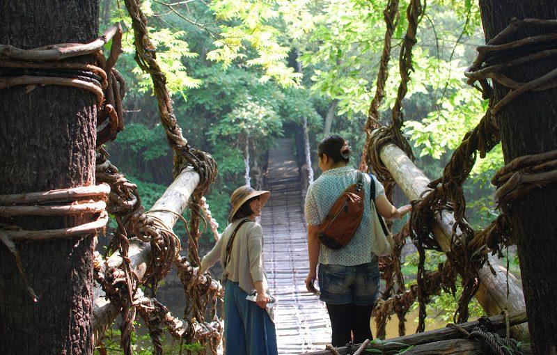 香川県屋島にある古民家博物館「四国村」  Shikoku Mura, open aire museum of Japanese traditional architecture