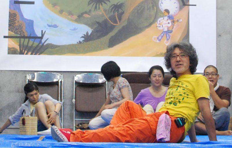 【レポート】 絵本作家 荒井良二さんin小豆島 – Mr. Ryoji Arai in Shodo island