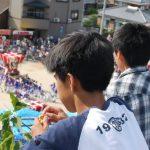 【小豆島 10/16】池田の桟敷。江戸時代に築かれた石垣でみる秋祭り – [Shodoshima 16th Oct.] The autumn festival at stone wall in Shodo island