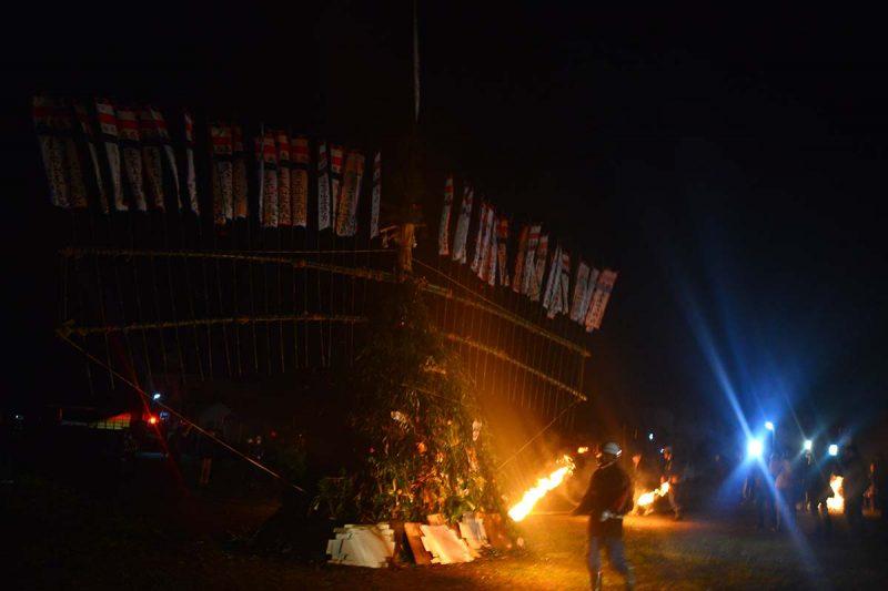 新居大島 とうどおくり Toudo festival at Ni-Oshima island