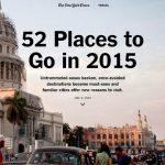 ニューヨーク・タイムズの行くべき世界の52箇所に四国が選定!!
