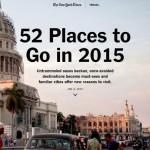 ニューヨーク・タイムズの「2015年に行くべき52箇所」に四国が選定!!