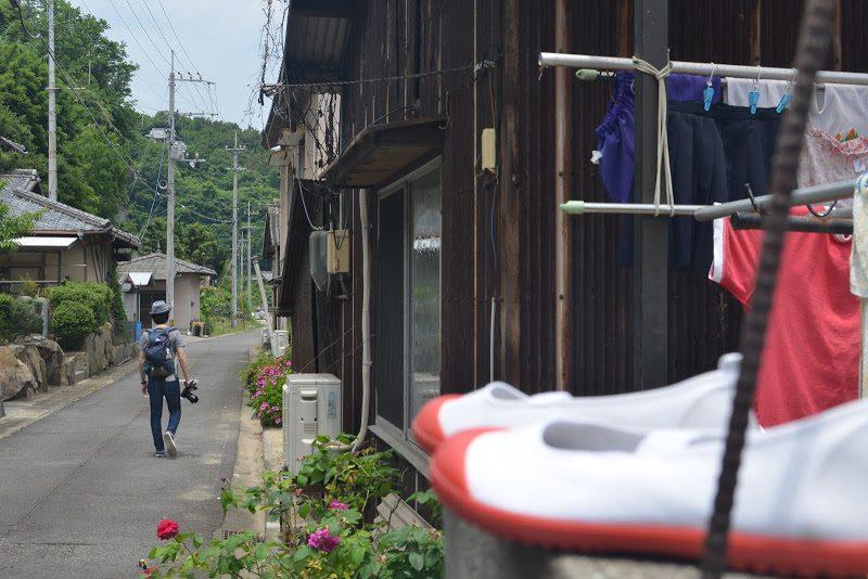 学校再開、タコの島 小手島(おてしま) Oteshima island