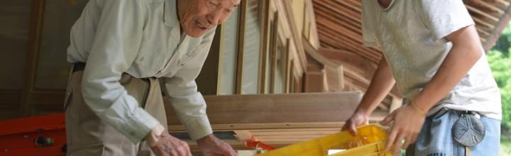 完熟梅の梅干し、ひとつひとつ丁寧に。徳島県神山町、大久保定一さん・由圭理さん
