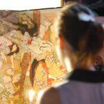 浮世絵師 絵金の芝居絵屏風が並ぶ祭り。「土佐赤岡絵金祭り」  – Ukiyoe Ekin festival, Akaoka, Kochi