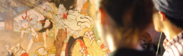 【毎年7月第3土・日曜】浮世絵師 絵金の芝居屏風の祭り「土佐赤岡絵金祭り」 The Ukiyoe Ekin festival, Akaoka, Kochi