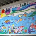レポート掲載しました。好評につき8月31日(水) まで延長!駅を巡るこどもたちの美術館。コトデン×コドモテン
