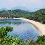 ヨットにのって牛の島 小豊島(おでしま)へ Odeshima, beef cattle ranch island
