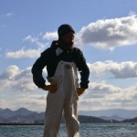 瀬戸内海・粟島 牡蠣養殖 朝倉裕貴さん – Oyster farmer Awashima island Mr. Yuki Asakura
