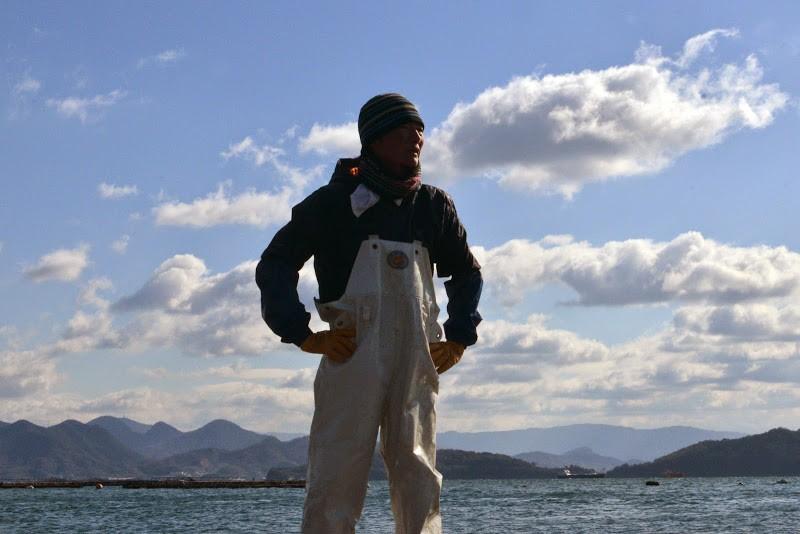 ポートレイト。瀬戸内海・粟島 牡蠣養殖 朝倉裕貴さん
