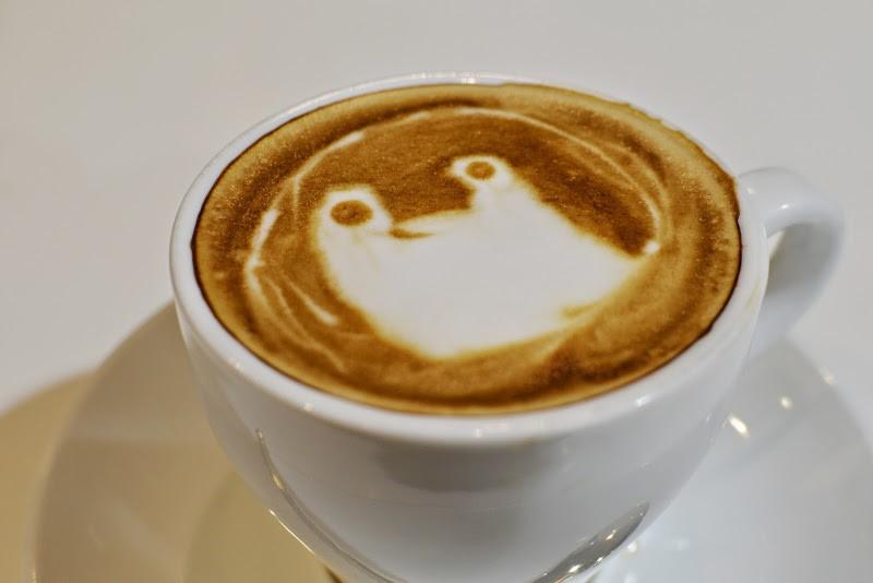 高松空港で楽しめるラテアート Café Buono