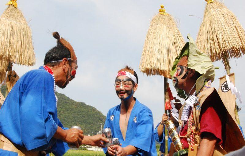 水の恵みと豊作に感謝するひょうきんな祭り「ひょうげ祭り」 – Hyoge (humorous) festival