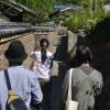 豊島の土塀 mud walls at Teshima island