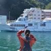 瀬戸内海の真ん中、魚島へ Uoshima island, Seto Inland Sea