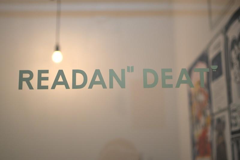 広島市、レトロビルにある本とうつわの小さな店「リーダンディート READAN DEAT」