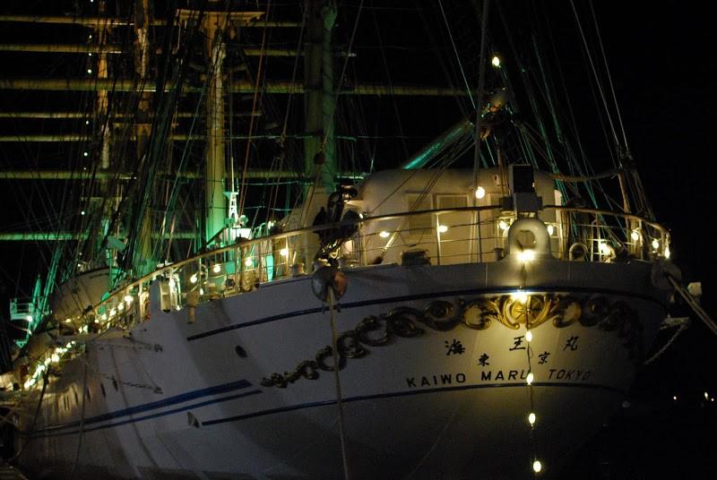 海の貴婦人。帆船「海王丸」
