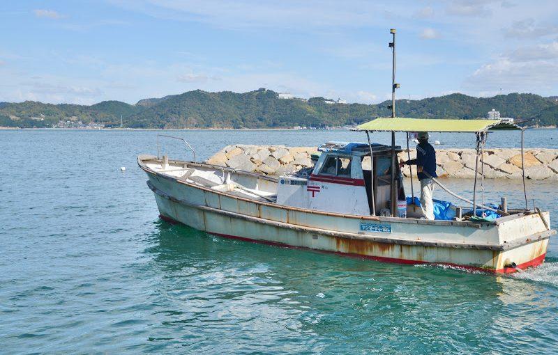 瀬戸の郵便船「郵政丸」 Mail ship of Seto Inland Sea