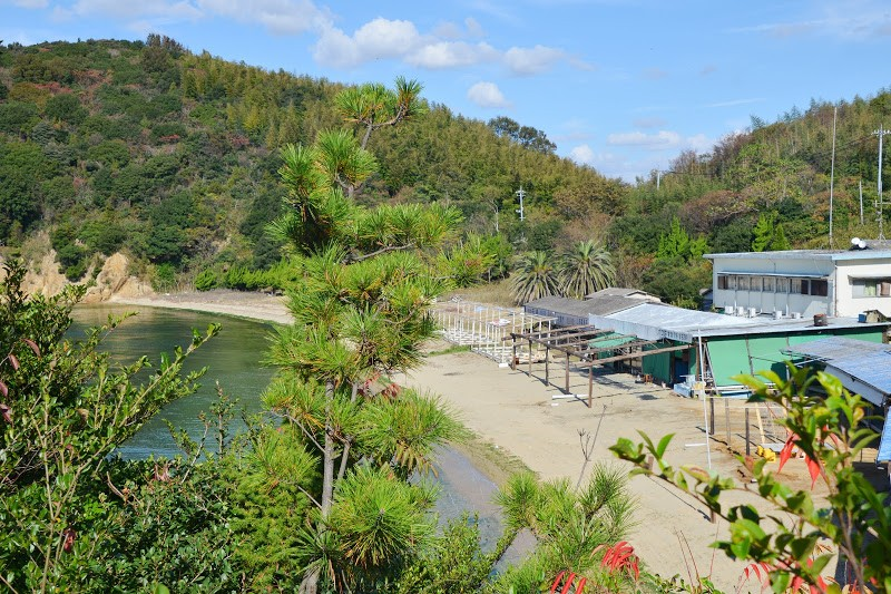 象岩と白砂ビーチと鮮魚、六口島(むぐちじま) Muguchi-jima island