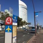 高松空港行のバス停案内がピクトグラムに!高松市U40の提案をうけて