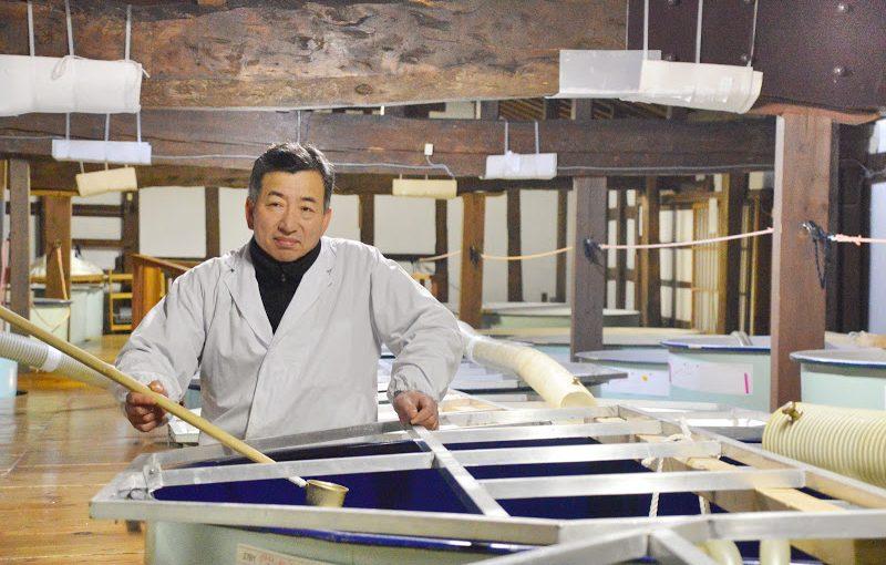 田んぼの風景をビンにつめた日本酒「天の戸・浅舞酒造」 Amanoto, Asamai sake factory, Akita pref.