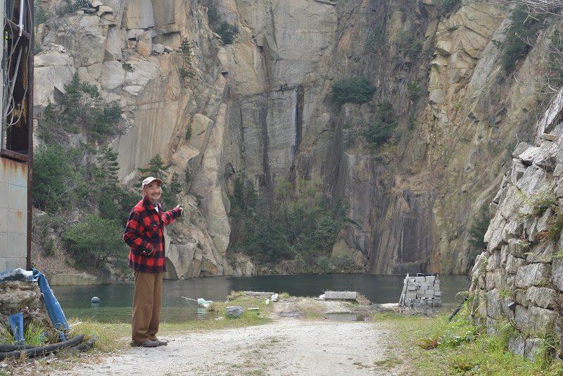 靖国神社の鳥居・日本橋・日銀に使われている石は、北木島の石 The stone island Kitagi