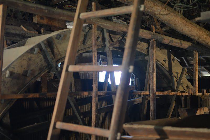 四国唯一現存、日本国内最古級の水車場「高原製粉精米水車場」 Takahara water mill