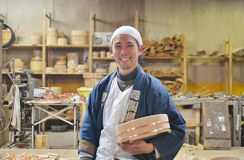 司(つかさ)製樽 原田啓司さん Tsukasa wooden bucket maker