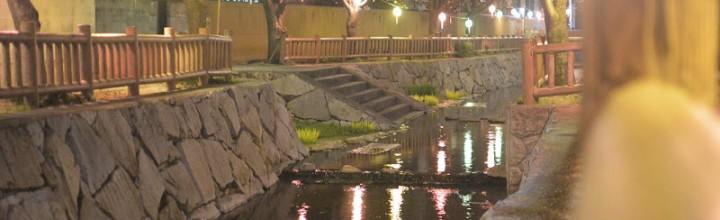 """鹿の井出水(しかのいですい) """"Shikanoidesui"""" Deer well water"""