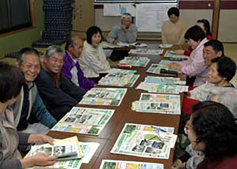 佐那河内村(さなごうちそん)の常会