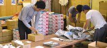 四国食べる通信6月号の発送