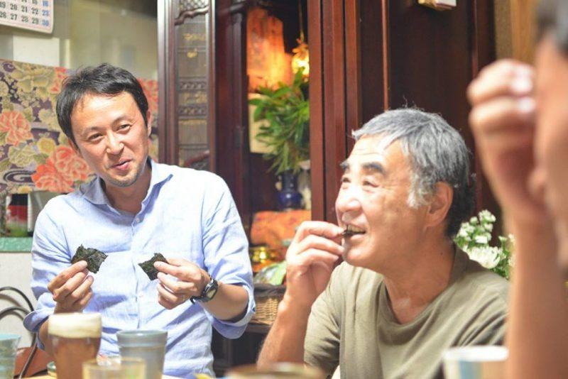 宮城県東松島市の海苔と、徳島の半田そうめんの出会い