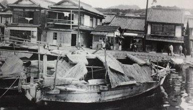 瀬戸内海 家船(えぶね)