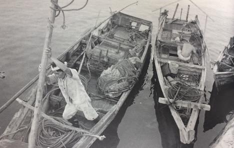 男木島の打瀬船(うたせぶね)