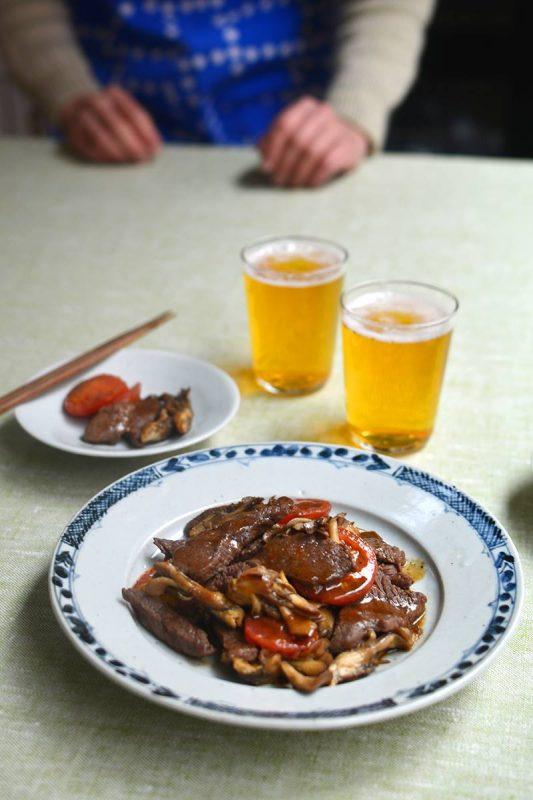 東京で村のレシピ撮影をしました! Sanagochi Village Beef