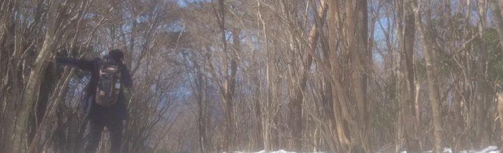 春の陽気、雪景色。さなごうち