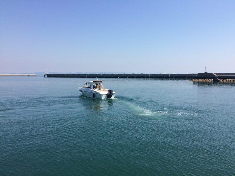 瀬戸内海の豊島で船舶免許を取りました!