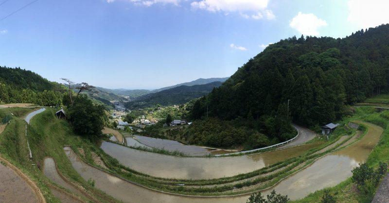村の風景に癒やされます